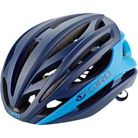 Giro Syntax MIPS Casco, matte midnight/blue jewel